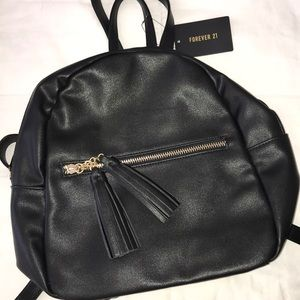 Forever 21 Bags - NEW black mini backpack